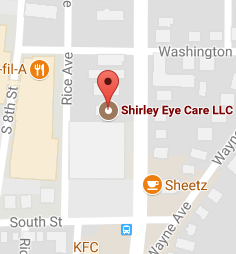 Shirley Eye Care On The Map